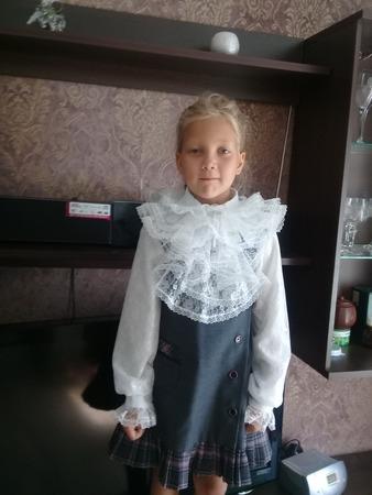 Фото. Блузки для школьной формы.  Автор работы - actinidia