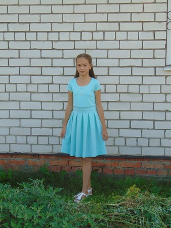 Фото. Нарядное платье для дочки.  Автор работы - Салампи