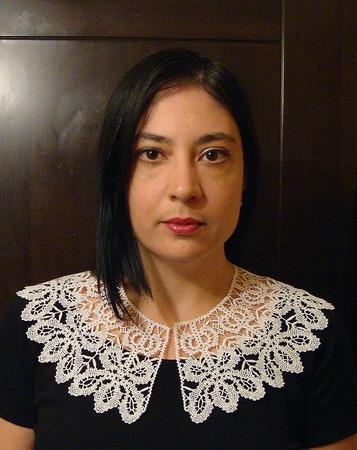 Фото. Воротничок для платья. Машинная вышивка. Автор работы - Edelweiss