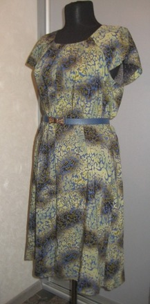 Фото. Платье из вискозы. Автор работы - Zhauniarovich_Nata