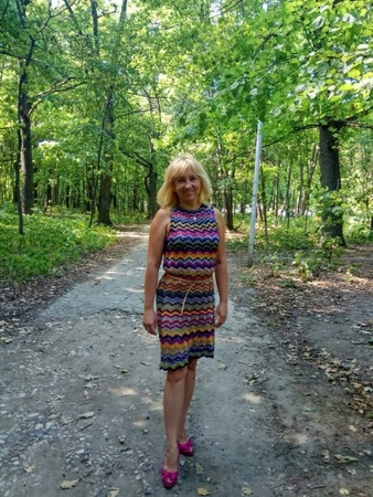 Фото. Платье из шелка.  Автор работы - esenka
