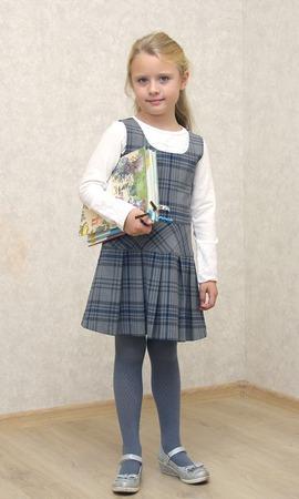 Фото. А стильный сарафанчик можно дополнить и блузкой, и обычной водолазкой. Автор работы - Сахарный Пончик