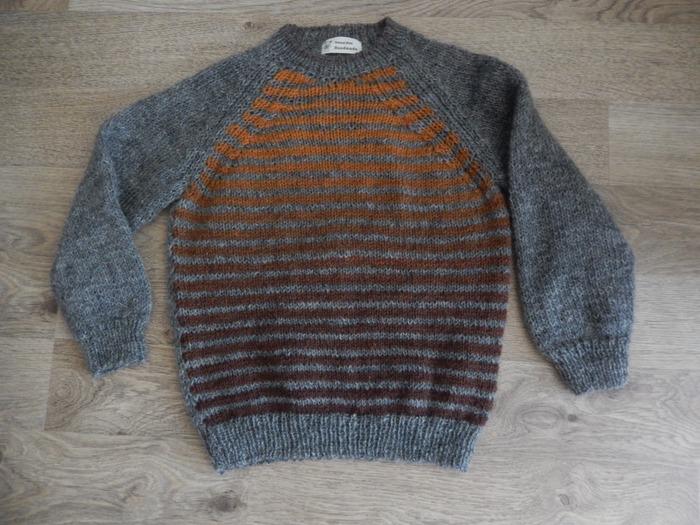 Фото. Пуловер для сына. Автор работы - jente
