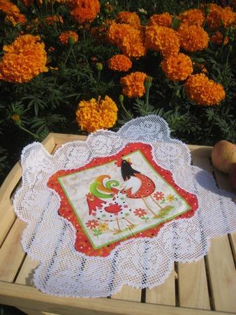 Фото. Филейное кружево.. Машинная вышивка.  Автор работы - Roza01