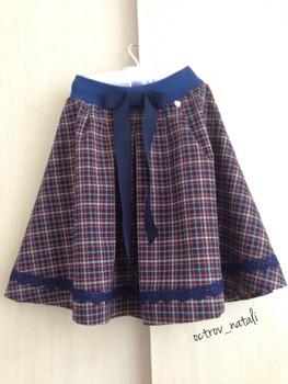 Фото. Школьная юбка. Автор работы - octrov_natali