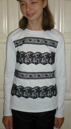 Фото. Блузка из кулирки с лайкрой. Автор работы - Слобожанка