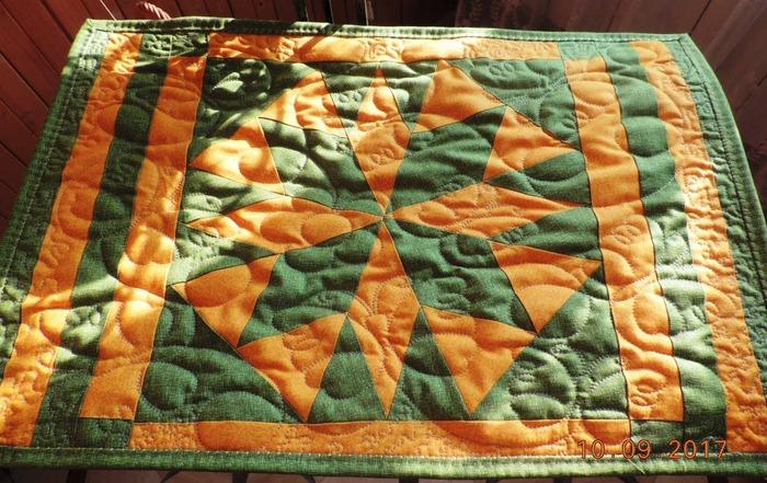 Фото. Стеганое одеялко. Автор работы - Nloshka