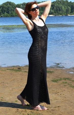 Фото. Черное платье...  Автор работы - fusha