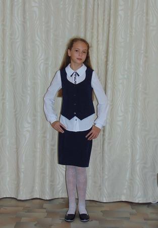 Фото. Школьная форма для дочки-четвероклассницы. Автор работы - Салампи