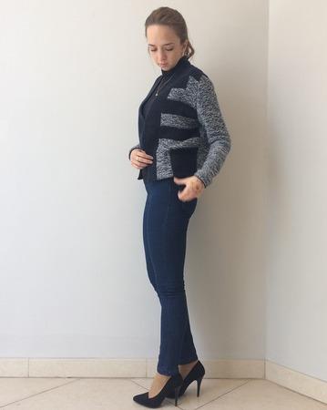 Фото. Bodil Jacket by Helga Isager для дочери. Автор и работы - Шельди