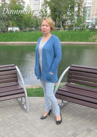 Фото. Меланжевый жакет Atelier Heidi Kirrmaier. Автор и работы - Инчик2007