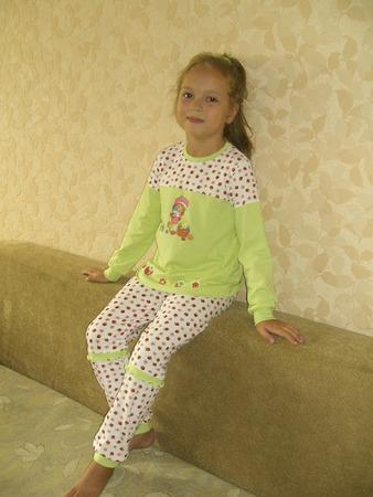 Фото. Пижама для детского сада.