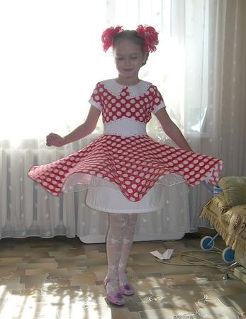 Фото. Платье для дочки на день рождения.И у него тоже ест своя история.
