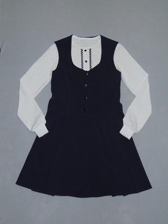 Фото. Для дочкиной подружки: сарафан + блузка. Автор работы - Салампи