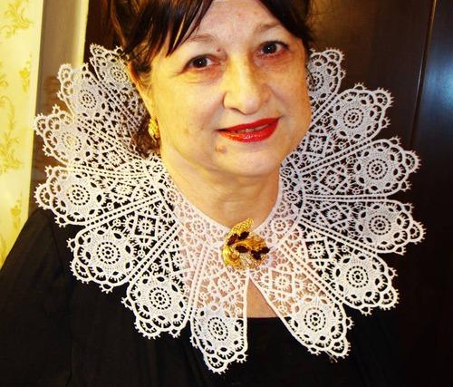 """Фото. Воротник """"17 век"""". Машинная вышивка. Автор работы - Edelweiss"""