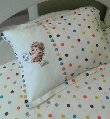 Фото. Детская постелька для маленького мальчика.  Автор работы - IriskaDDSl
