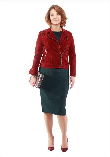 Комплект №2 .Куртка, платье и туфли – Mango. Клатч – Parfois
