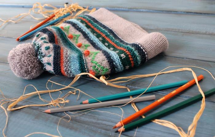Фото. Простые вещи для тепла.  Автор работы - innasun