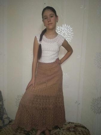 Фото. Ажурная юбка. Автор работы - IrinaPanfilova