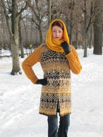 Фото. Пальто. Связано-сваляно. Автор работы - MymiMama