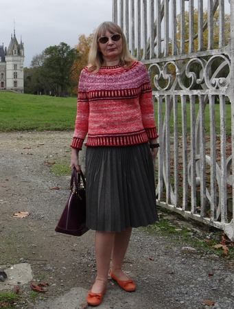 Фото. Пуловер из хлопка по мотивам Zweig by Caitlin Hunter. Автор работы - Gasaz