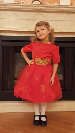 Фото. Платье для праздника Осени.   Автор работы - Iriskacat