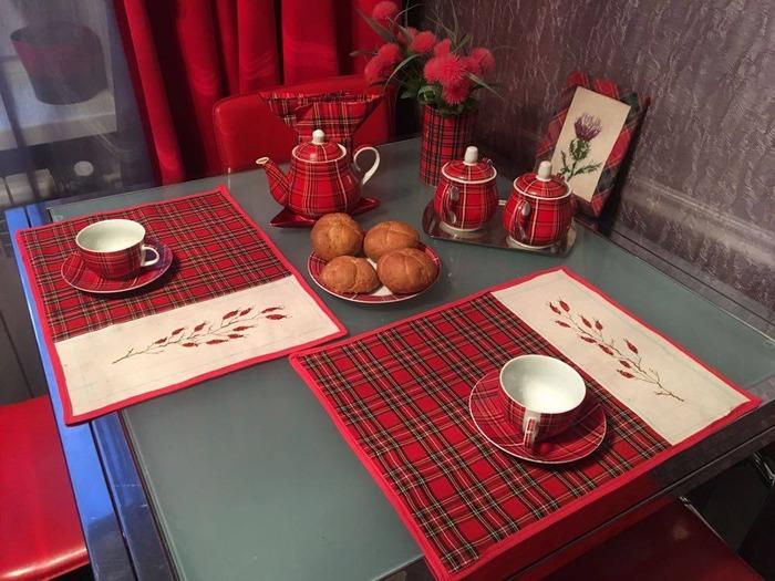 Фото. У нас на кухне шотландская осень...  Автор работы - valevsky