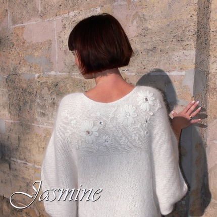 Фото. Ангоровый пуловер Jasmine. Автор работы - Катара