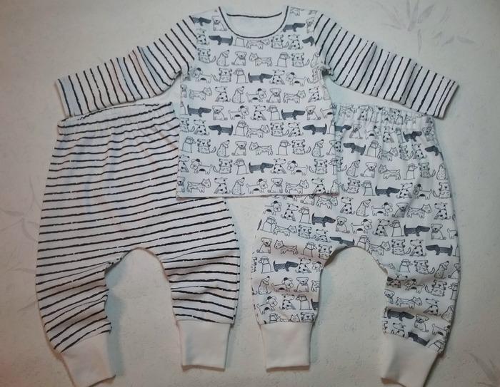 Фото. Домашняя одежда для внучки. Автор работы - Lyudmila_So