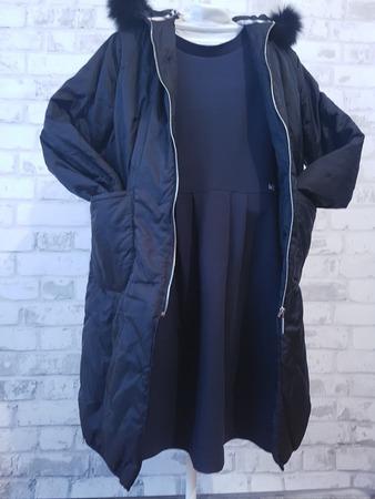 Фото. Комплект в школу - пальто и форма должны подходить друг другу.  Автор работы - Лоскутик