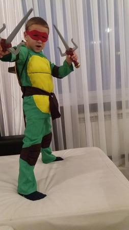 Фото. Черепашонок-нинздя - любимый герой  у мальчишек. Автор работы - samakolga