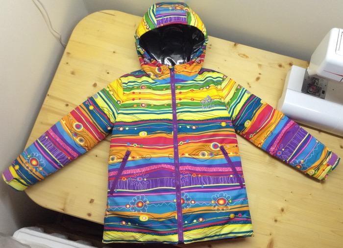 Фото. Новая куртка ребенку. Автор работы - ОльгаМороз
