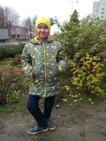 Фото. Курточка для дочки. Автор работы - Hatana-lo