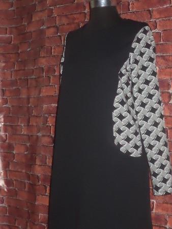 Фото. Спортивное платье из футера свободного покроя. Автор работы - St.Elena