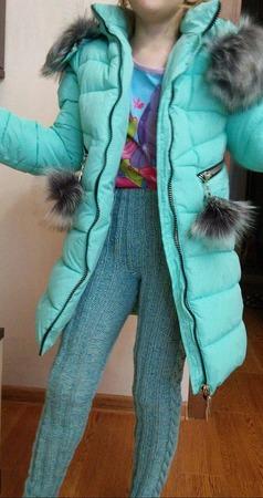 Фото. Теплые штанишки младшей из твида и мериноса. Автор работы - Светланк@