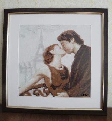 "Фото. ""A Paris kiss"". Автор работы - tatgen"