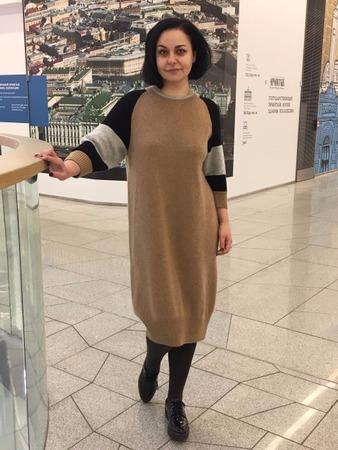 Фото. Платье в стиле Brunello Cucinelli 100% кашемир Loro Piana 2\27. Автор работы - Valeria72