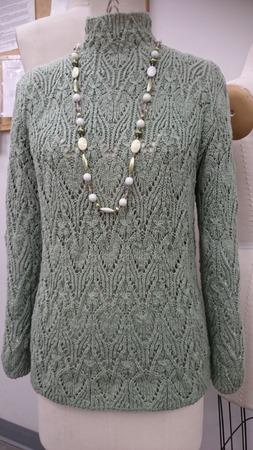 Фото. Ажурный свитер. Автор работы - Best Fit