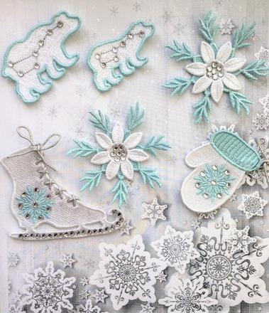 Фото. Новогодние вышивки. Автор работы - AnnaLila