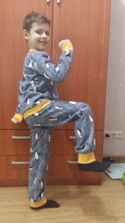 Фото. Еще пижамка.  Автор работы - zhannik4