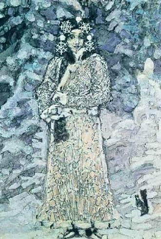 """Фото. М.А. Врубель """"Снегурочка"""" (1898)."""