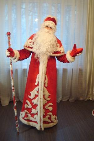 Фото. Дед Мороз. Сложно поверить, но это первая вещь из одежды, пошитая  автором работы - smile207