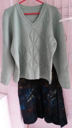 Фото. Пуловер.  Автор работы - Марфуфочка