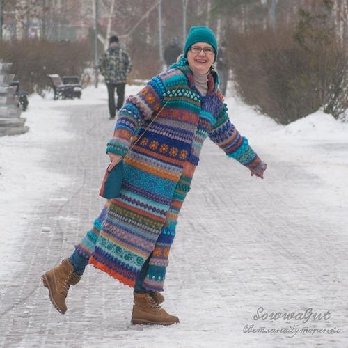 Фото. Пальто Смерть Серым Урбаноидам.  Автор работы - SvetlanaGut