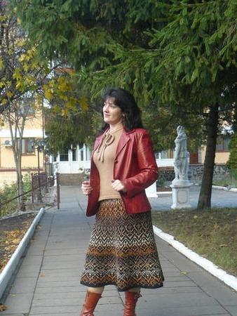 Фото. Юбочка Аромат глинтвейна / The aroma of mulled wine by Tatiana Chystiakova.  Автор работы - НаталияР.