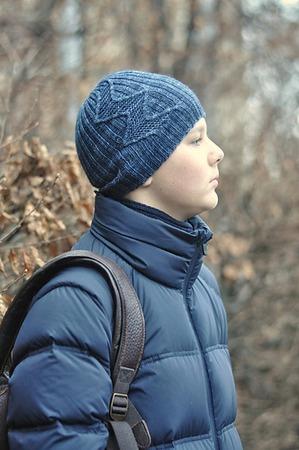 Фото. Новая модель шапки для сына - Lombard Street Hat. Автор работы  - nata_kiev
