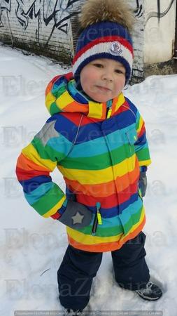 Фото. Зимний комплект для сына.  Автор работы - ximena