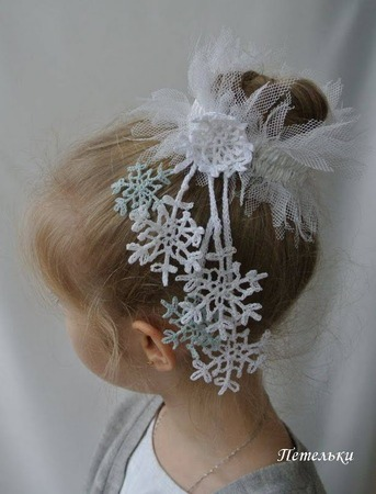 """Фото. Украшение на голову к костюму """"Снежинка"""".  Автор работы - NatkaD"""