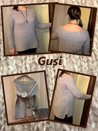 """Фото. """"Сопливый"""" свитер.  Автор работы - Gusi"""