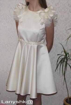 Фото. Платье для старшей дочери к концерту. Автор работы - lanyshk@.